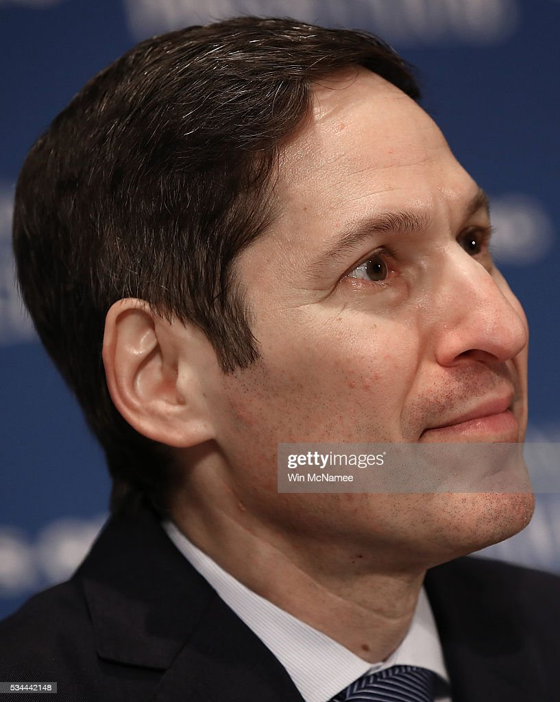 Dr. <a gi-track='captionPersonalityLinkClicked' href=/galleries/search?phrase=Tom+Frieden&family=editorial&specificpeople=11365236 ng-click='$event.stopPropagation()'>Tom Frieden</a>, Director of the U.S. Centers for Disease Control and Prevention, speaks at the National Press Club May 26, 2016 in Washington, DC. Frieden discussed the Zika virus outbreak during his remarks.