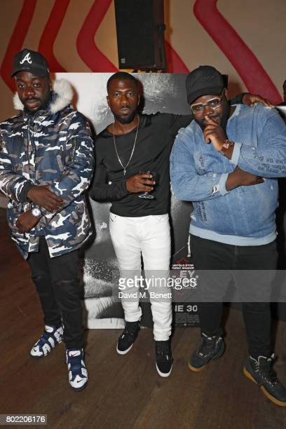 Dr Vades attend a special screening of 'All Eyez On Me' at The Ham Yard Hotel on June 27 2017 in London England