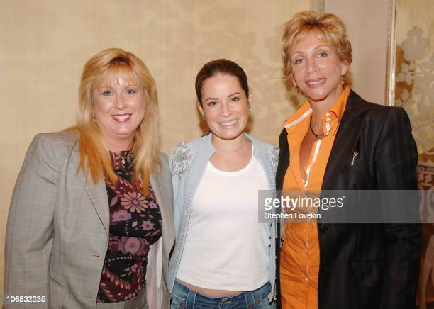 Dr Valerie Schulz Holly Marie Combs and Lauren Howard