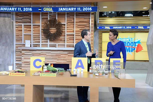 AMERICA Dr Vincent Pedre author of 'Happy Gut' a book on digestive health visits GOOD MORNING AMERICA 1/11/16 airing on the ABC Television Network DR...