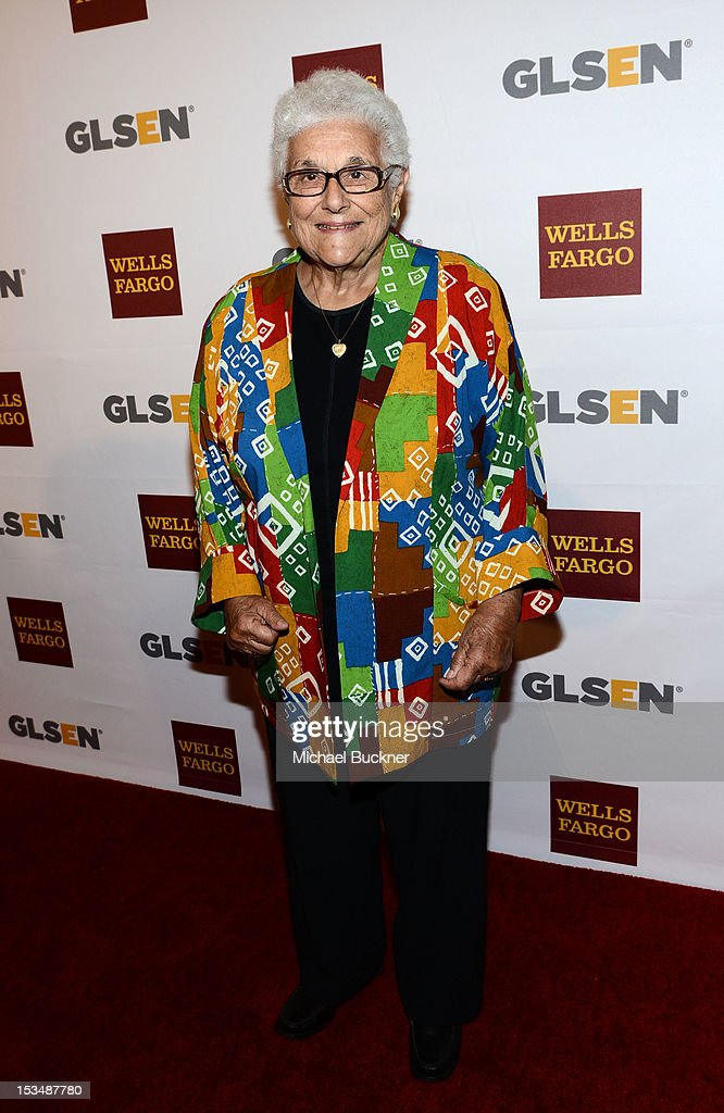 Dr. Virginia Uribe arrives at the 8th Annual GLSEN Respect Awards held at Beverly Hills Hotel on October 5, 2012 in Beverly Hills, California.