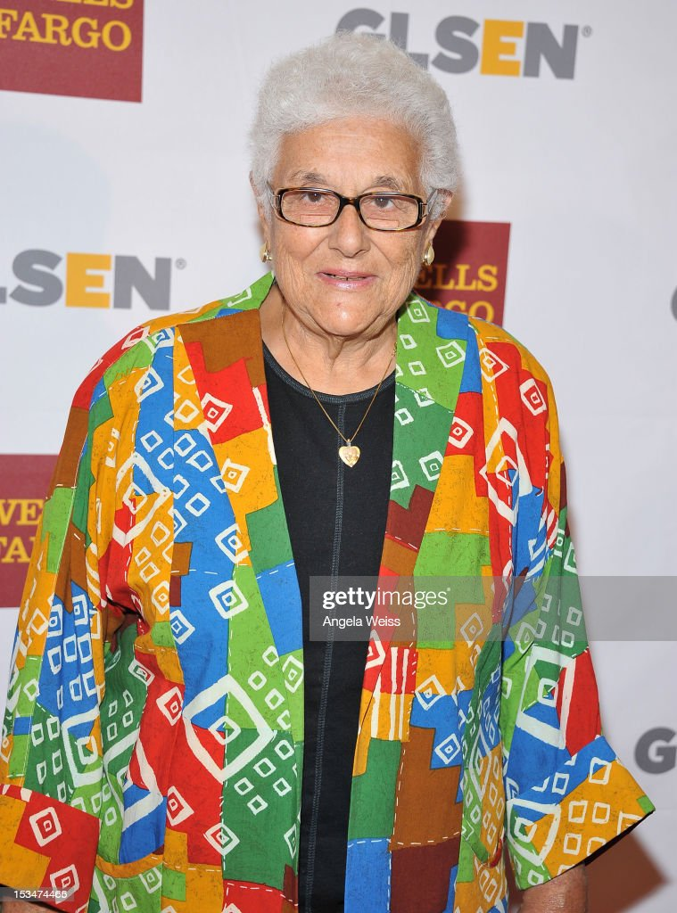 Dr. Virginia Uribe arrives at the 8th annual GSLEN Respect Awards at Beverly Hills Hotel on October 5, 2012 in Beverly Hills, California.