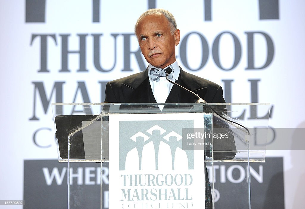 Dr. Wayne D. Watson speaks at the Thurgood Marshall College Fund 25th Awards Gala on November 11, 2013 in Washington City.