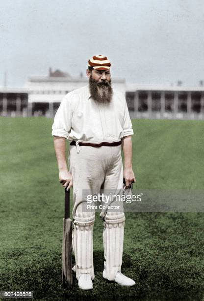 Dr WG Grace English cricketer playing for London County Cricket Club c1899 Regarded as possibly the greatest cricketer of all time WG Grace played...