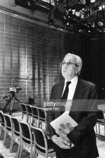 Dr Wilbur James Gould director of the recording research center of the DCPA Credit The Denver Post