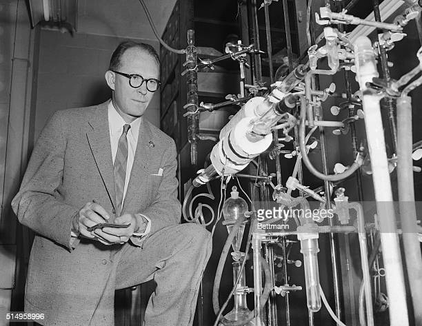 Dr Willard F Libby Professor of Chemistry in the Institute for Nuclear Studies at the University of Chicago was appointed to the Atomic Energy...