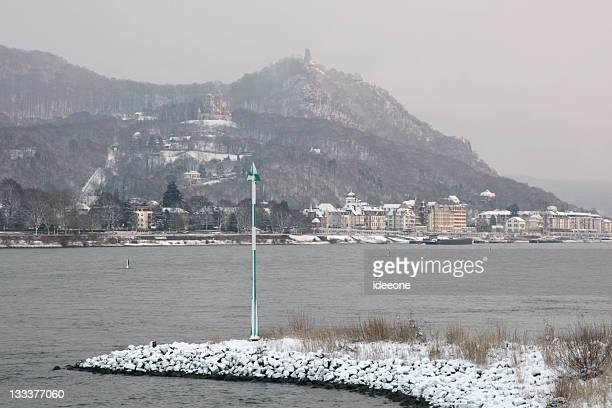 Drachenfels im Winter
