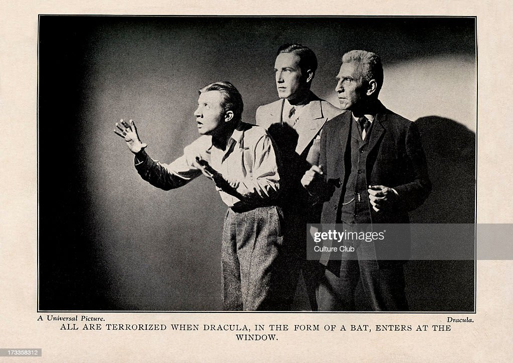 'All are terrorized when Dracula in the form of a bat enters at the window' Directed by Tod Browning Produced by Universal Pictures Based on stage...