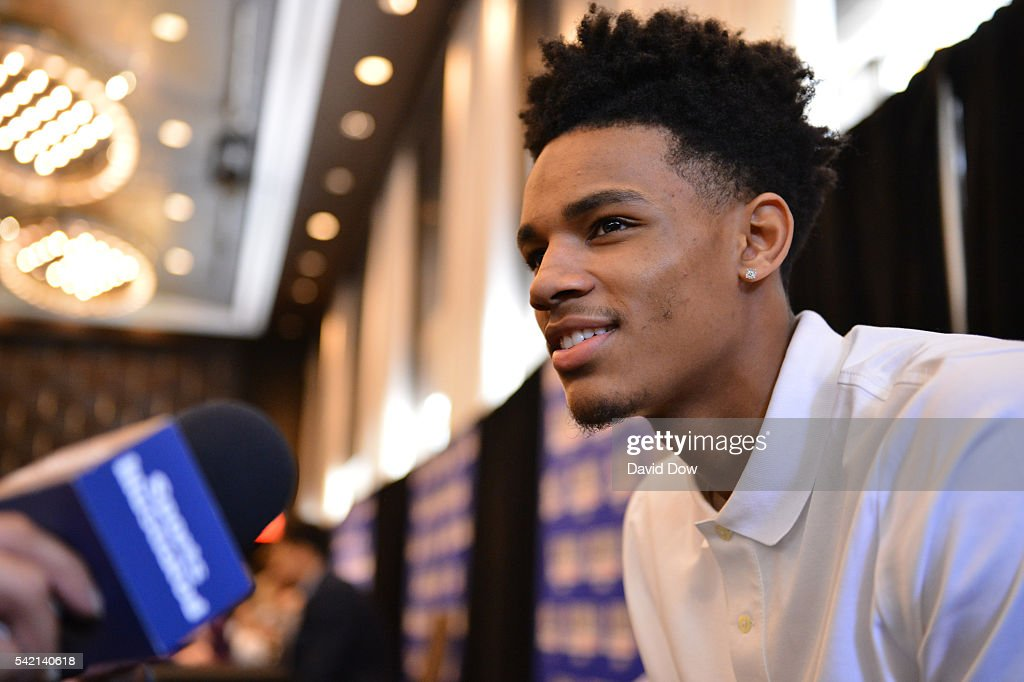 2016 NBA Draft Media Avail and Portraits