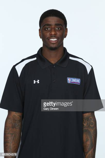 Draft Prospect Dwayne Bacon poses for a head shot during the NBA Draft Combine Medical Testing on May 13 2017 at Northwestern Memorial Hospital in...