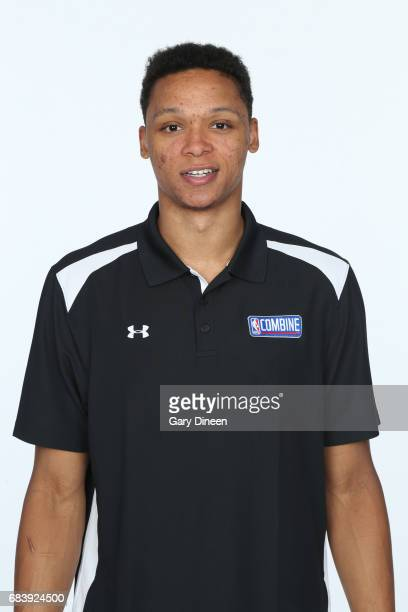 Draft Prospect Ivan Rabb poses for a head shot during the NBA Draft Combine Medical Testing on May 13 2017 at Northwestern Memorial Hospital in...
