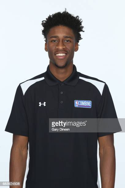 Draft Prospect Kobi Simmons poses for a head shot during the NBA Draft Combine Medical Testing on May 13 2017 at Northwestern Memorial Hospital in...