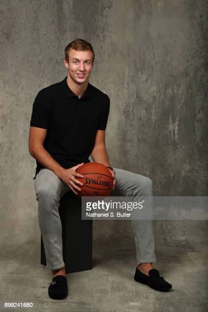 Draft Prospect Luke Kennard poses for portraits during media availability and circuit as part of the 2017 NBA Draft on June 21 2017 at the Grand...