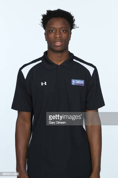 Draft Prospect OG Anunoby poses for a head shot during the NBA Draft Combine Medical Testing on May 13 2017 at Northwestern Memorial Hospital in...