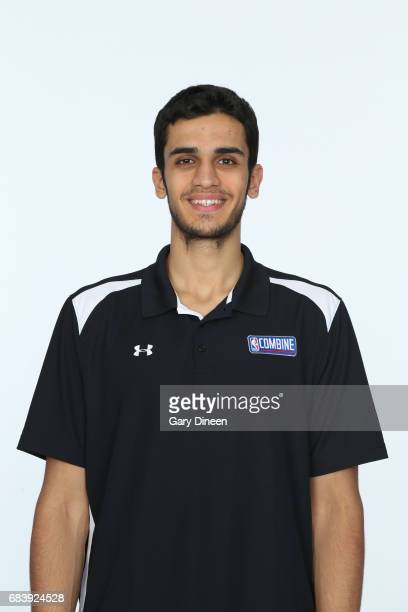 Draft Prospect Omer Yurtseven poses for a head shot during the NBA Draft Combine Medical Testing on May 13 2017 at Northwestern Memorial Hospital in...