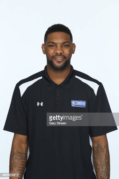 Draft Prospect Sindarius Thornwell poses for a head shot during the NBA Draft Combine Medical Testing on May 13 2017 at Northwestern Memorial...