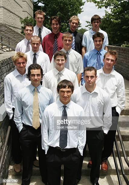 NHL draft prospects Alexander Ovechkin Alvaro Montoya Andrew Ladd Lauri Tukonen Ladislav Smid Cameron Barker Marek Schwartz Rostislav Olesz Kyle...
