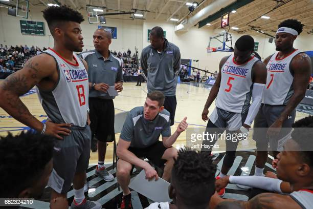 Draft prospects are coached during the NBA Draft Combine at the Quest Multisport Center on May 11 2017 in Chicago Illinois NOTE TO USER User...