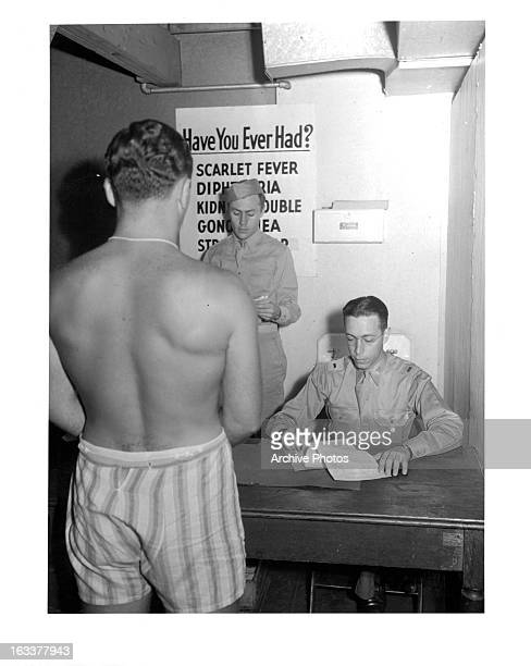 Draftee Examination at Governor's Island Army Induction Center 9/18/1941