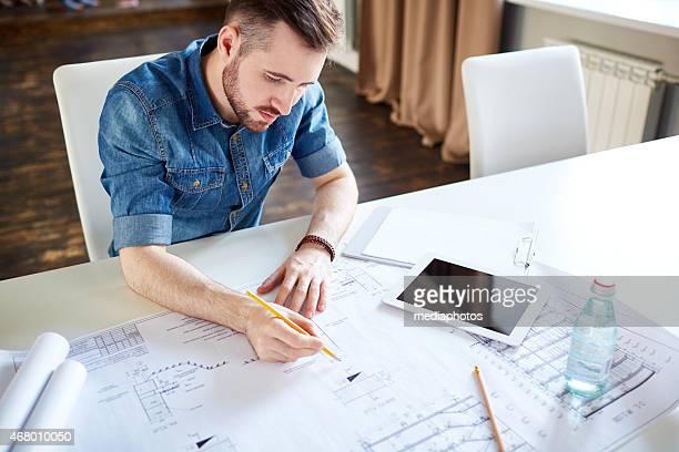 Drafting house plan