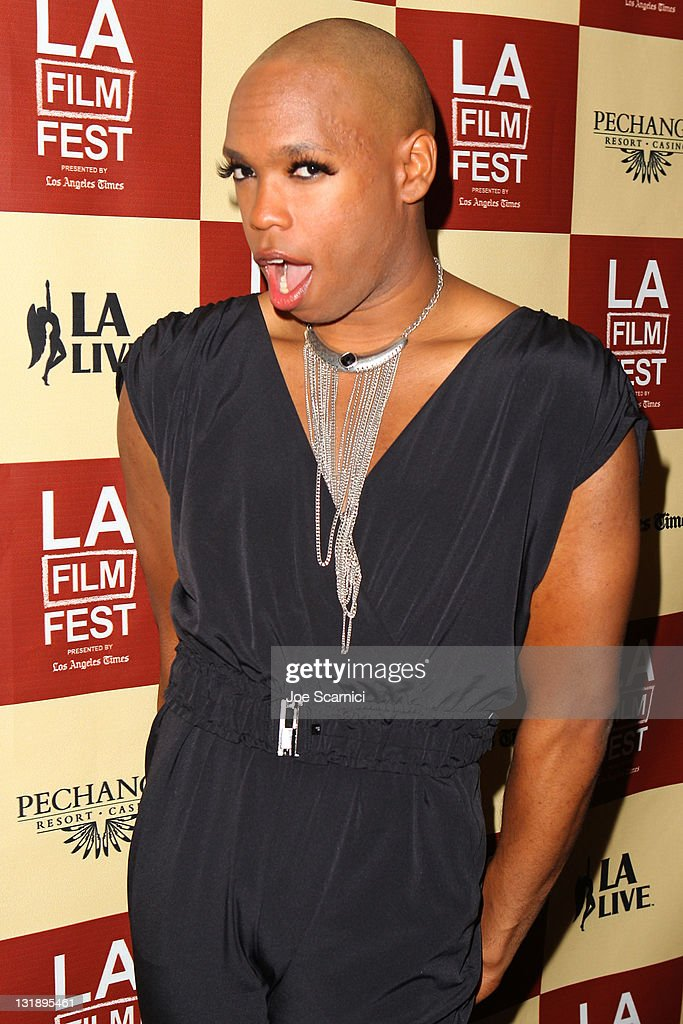 Drag artist James Alsop attends the 'Leave It On The Floor' Q & A during the 2011 Los Angeles Film Festival held at the Regal Cinemas L.A. LIVE on June 18, 2011 in Los Angeles, California.