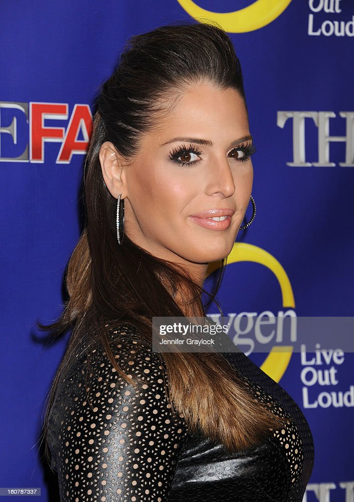 Drag performer and Reality TV Personality Carmen Carrera attends 'The Face' Series Premiere at Marquee New York on February 5, 2013 in New York City.