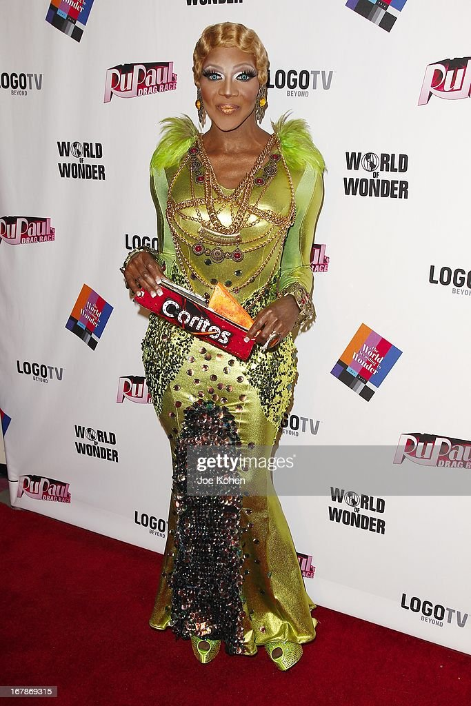 Drag performer Coco Montrese attends 'RuPaul's Drag Race' Season 5 Finale, Reunion & Coronation Taping on May 1, 2013 in North Hollywood, California.