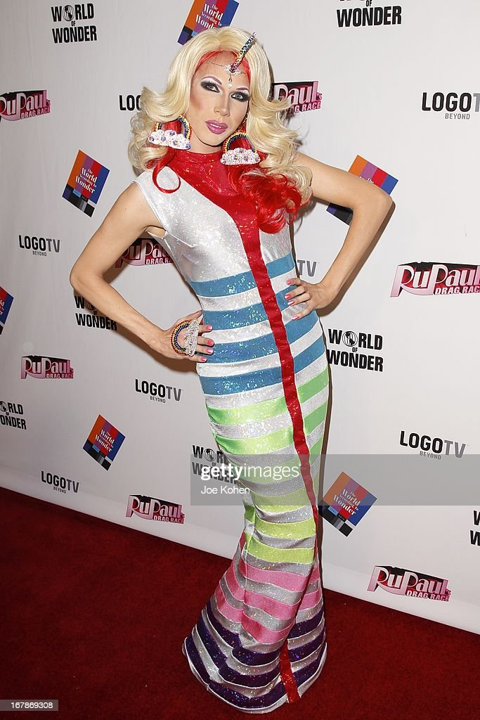 Drag performer Jade Jolie attends 'RuPaul's Drag Race' Season 5 Finale, Reunion & Coronation Taping on May 1, 2013 in North Hollywood, California.