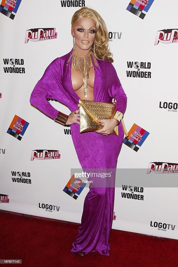 Drag performer Morgan McMichaels attends 'RuPaul's Drag Race' Season 5 Finale, Reunion & Coronation Taping on May 1, 2013 in North Hollywood, California.