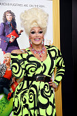 Drag Queen Alexis Michelle attends 'Absolutely Fabulous The Movie' New York Premiere at SVA Theater on July 18 2016 in New York City