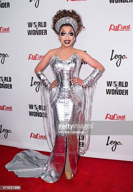Drag queen Bianca Del Rio attends Logo TV's 'RuPaul's Drag Race' season finale event at Orpheum Theatre on May 19 2015 in Los Angeles California