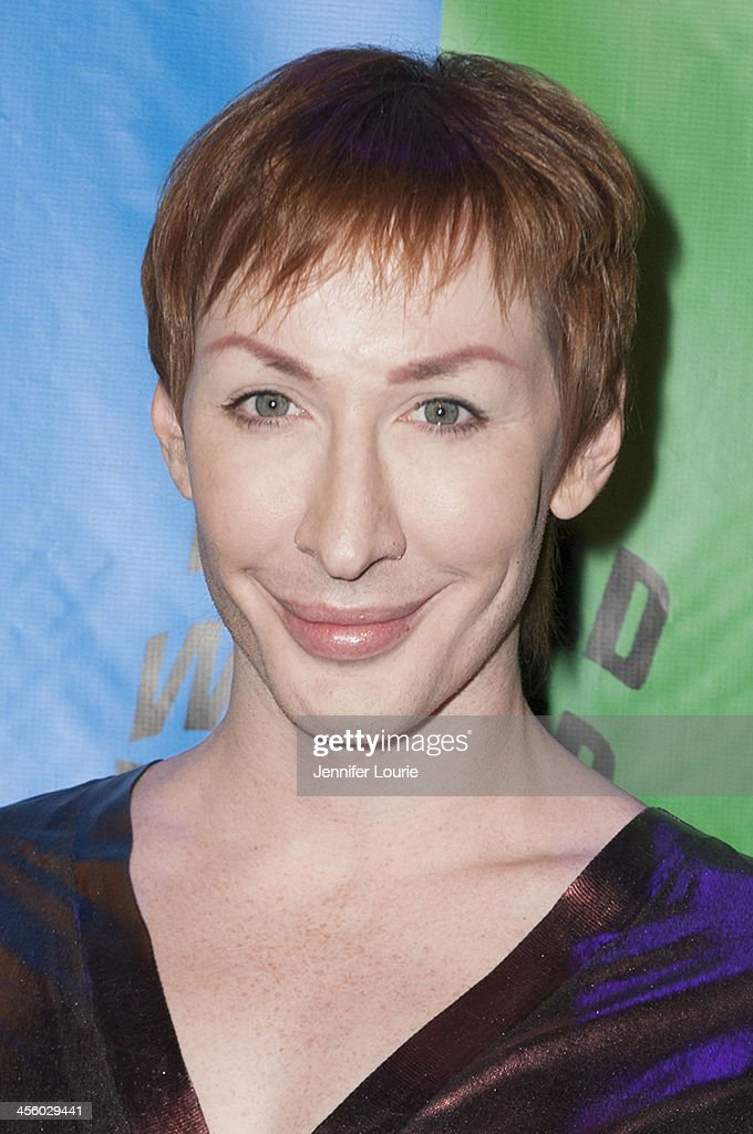 Drag queen Detox attends the 2013 World of Wonder Holiday Party and 1st Annual WOWie Awards at The Globe Theatre on December 12, 2013 in Universal City, California.