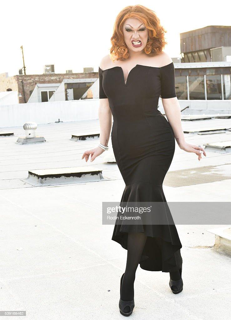 Drag queen Jinkx Monsoon poses for portrait during the opening of