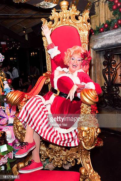Drag queen Momma attends The Abbey's 8th annual Christmas In September Event benefiting The Children's Hospital Los Angeles at The Abbey on September...