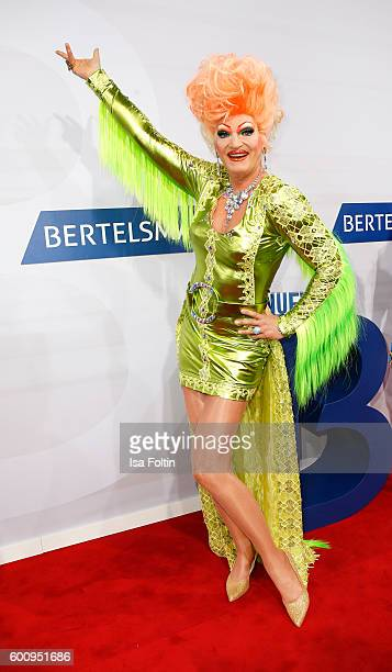 Drag Queen Olivia Jones attends the Bertelsmann Summer Party at Bertelsmann Repraesentanz on September 8 2016 in Berlin Germany