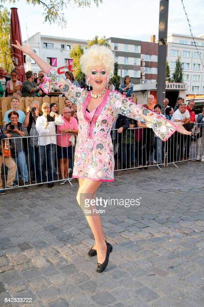 Drag Queen Olivia Jones attends the 'Nacht der Legenden' at Schmidts Tivoli on September 3 2017 in Hamburg Germany