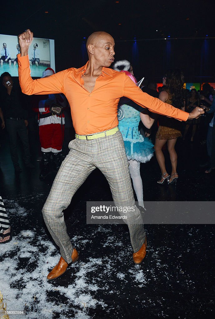 Drag queen <a gi-track='captionPersonalityLinkClicked' href=/galleries/search?phrase=RuPaul&family=editorial&specificpeople=963117 ng-click='$event.stopPropagation()'>RuPaul</a> attends the World Of Wonder book release party/birthday bash at The Globe Theatre at Universal Studios on December 13, 2012 in Universal City, California.