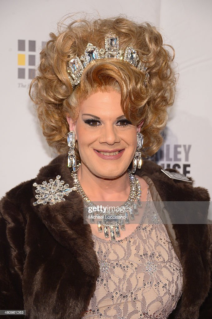 Drag Queen Twinkle Montgomery attends the Bailey House's 2014 Gala & Auction at Pier 60 on March 27, 2014 in New York City.