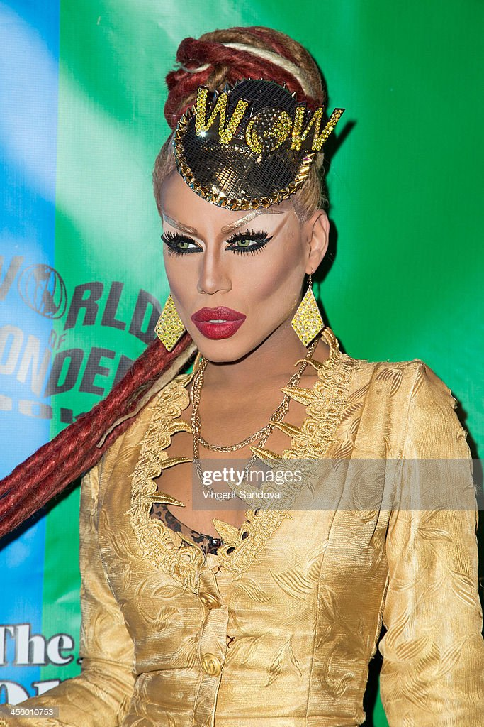 Drag queen Yara Sofia attends the World of Wonder's 1st Annual WOWie Awards at The Globe Theatre on December 12, 2013 in Universal City, California.