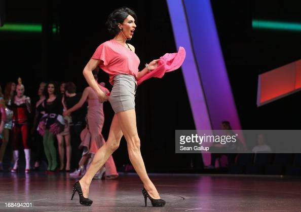 Drag queens from across Germany participate in the firstever Drag Walk Casting at Friedrichstadtpalast theatre on May 10 2013 in Berlin Germany The...