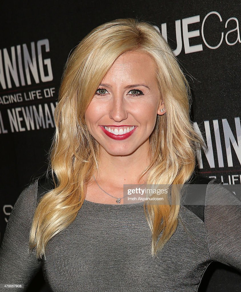 Drag racer <a gi-track='captionPersonalityLinkClicked' href=/galleries/search?phrase=Courtney+Force&family=editorial&specificpeople=8957288 ng-click='$event.stopPropagation()'>Courtney Force</a> attends the charity screening of 'WINNING: The Racing Life Of Paul Newman' at the El Capitan Theatre on April 16, 2015 in Hollywood, California.
