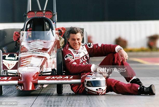 Drag racer Don Prudhomme at Pomona Raceway on January 31 1994 in Pomona CA