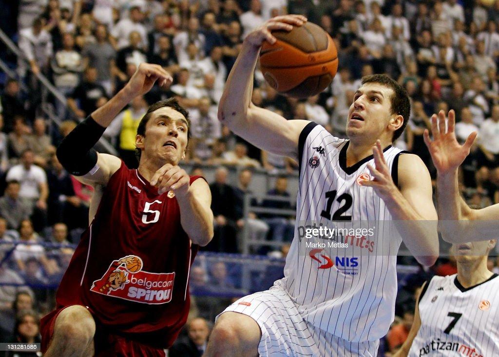 Partizan mt:s Belgrade v Belgacom Spirou Basket - Turkish Airlines Euroleague