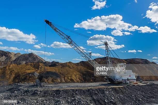 dragline at Coal Mine
