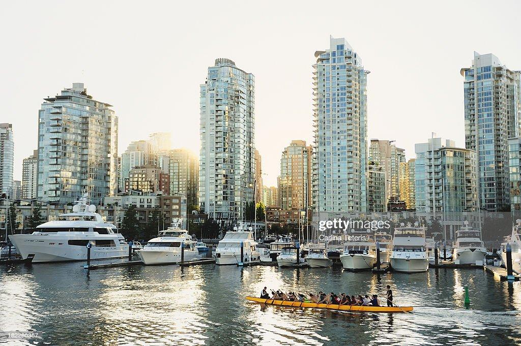 Dragon Boating in Vancouver