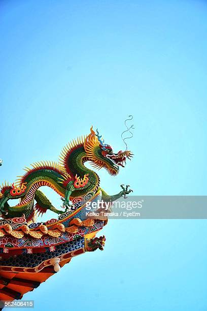 Dragon Carving On Eaves