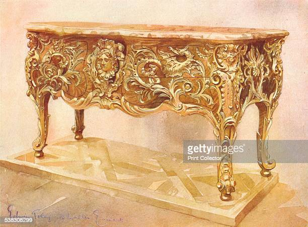 A dragon commode attributed to AntoineRobert Gaudreaus c1903 A drawing of a commode dated c173540 and housed at the Wallace Collection From The...
