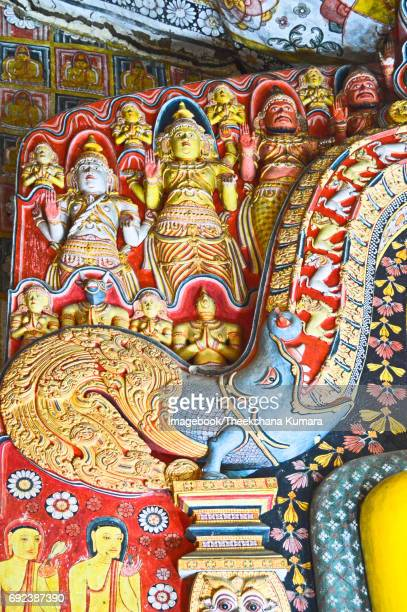 Dragon Design of Selawa Cave Temple, Aranayake, Sri Lanka