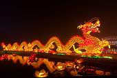 Dragon Lantern for celebrating Spring Festival