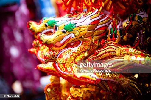 Dragon ornaments
